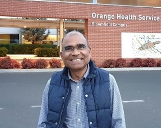 Director of Medical Physics Dr Dilli Banjade