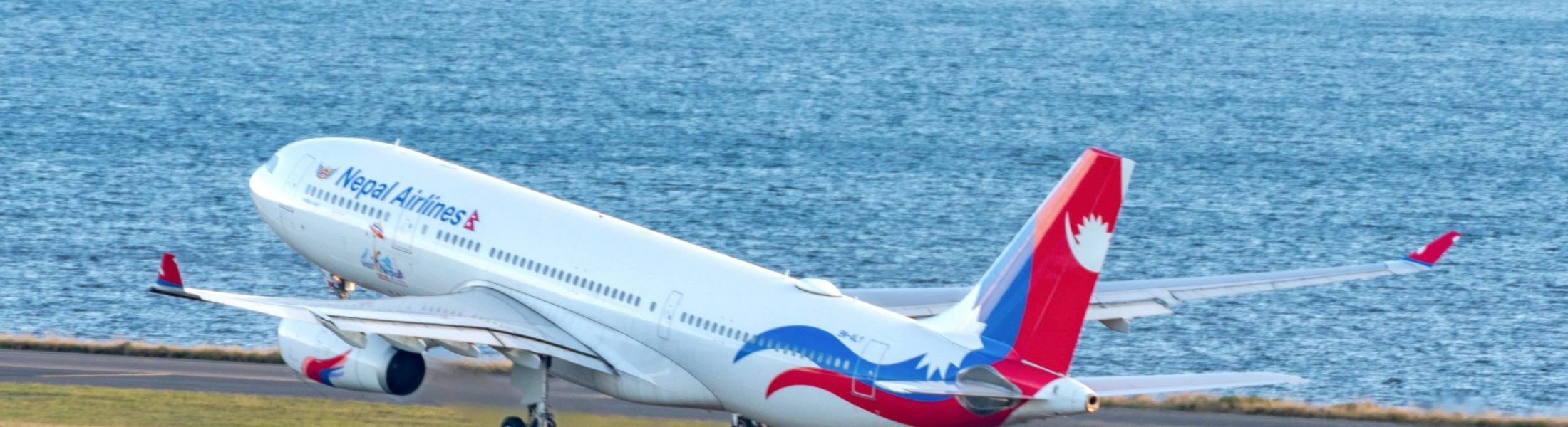 The Nepal Airlines repatriation flight from Sydney to Kathmandu June 23