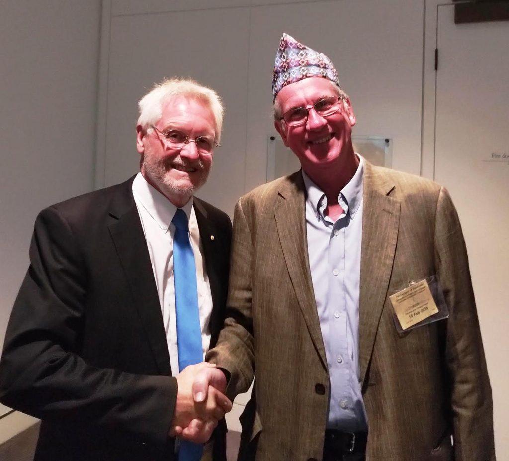 Simon Balderstone and Glenn White