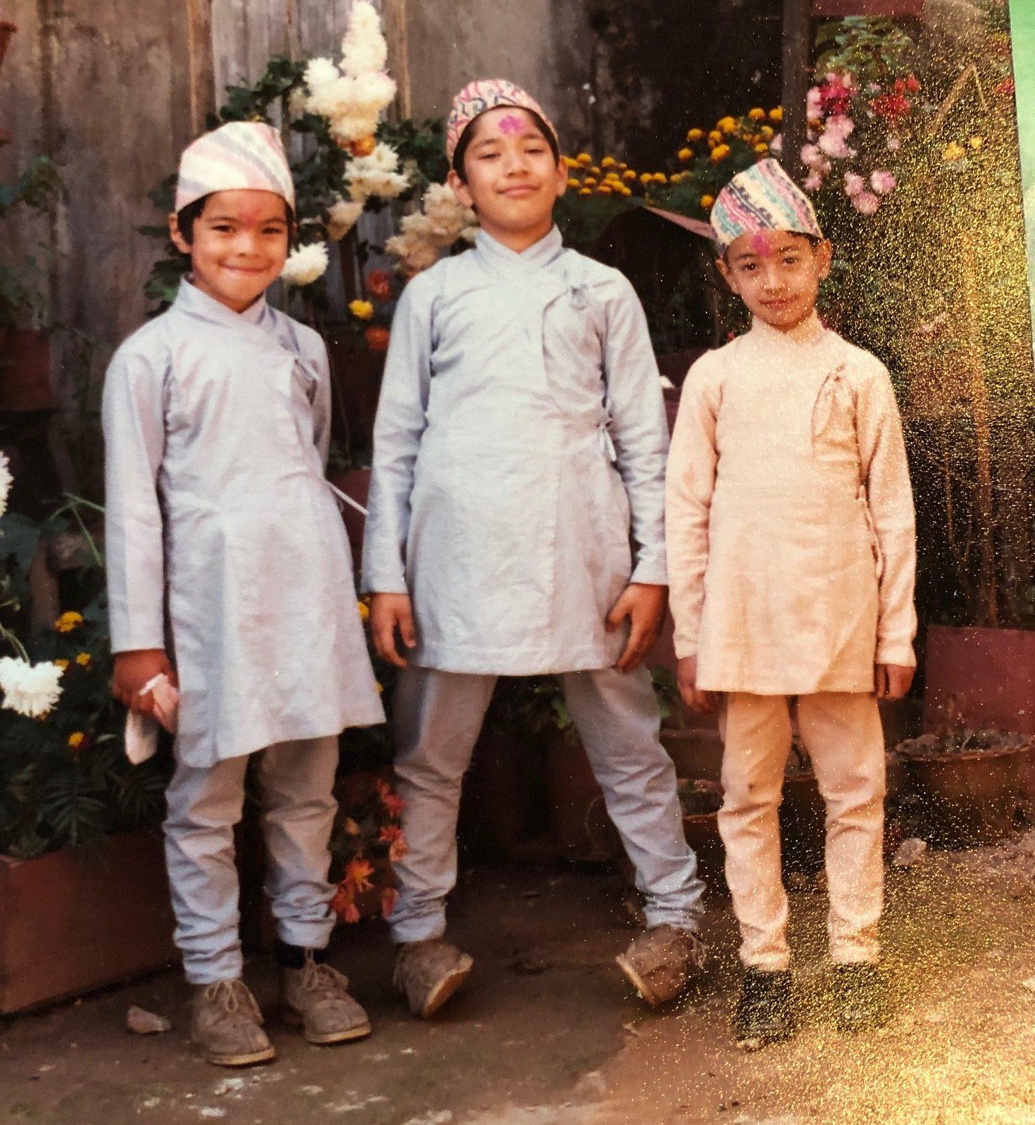 Sangam Pradha Fierst Born Nepalese in Australia