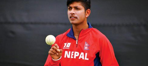 Youth Nepal Cricketer Sandeep Lamichhane Re-signs with Hobart Hurricanes