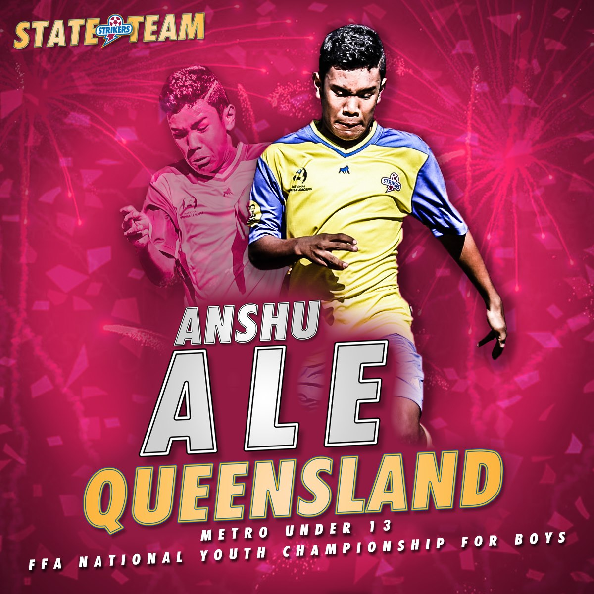 Anshu Ale Midfielder - Brisbane Strikers