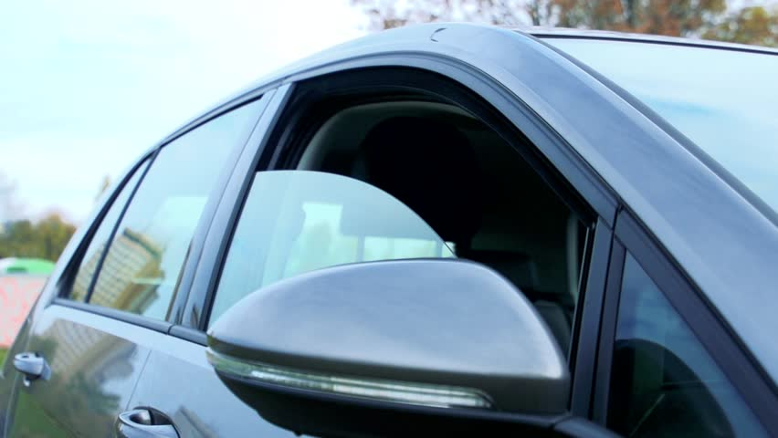 Police issued a fine for leaving their car window open