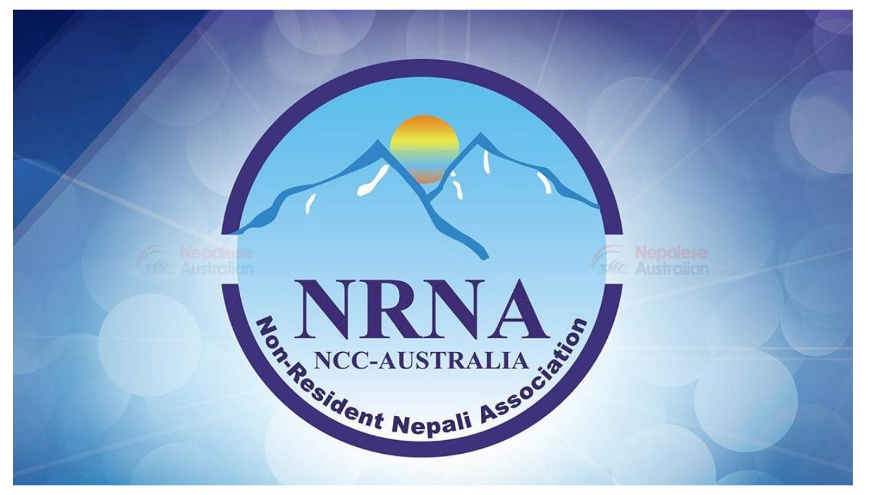Non Resident Nepali Association Australia NRNA Australia Logo