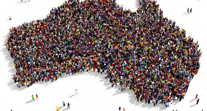 Statistics about the population of Australia