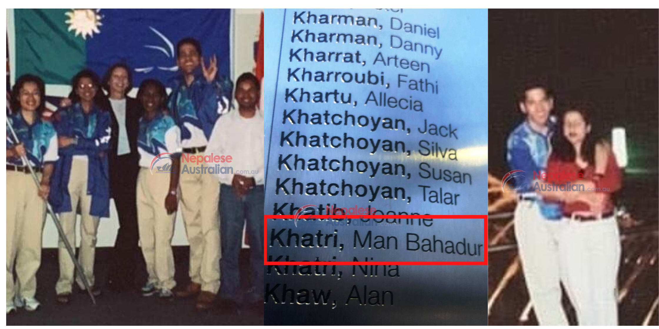 Sydney Olympic Games 2000- Nepalese Volunteer Man Bhadur Khatri