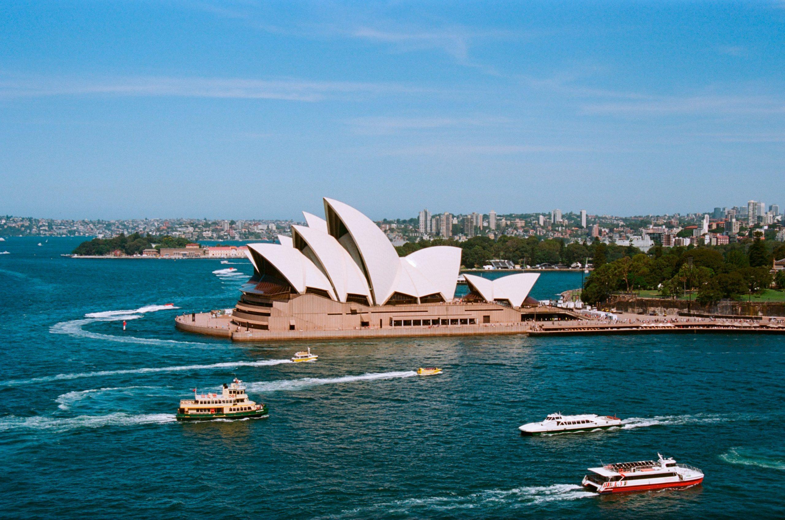 Sydney Opera House Photo by Jeremy Bishop on Unsplash