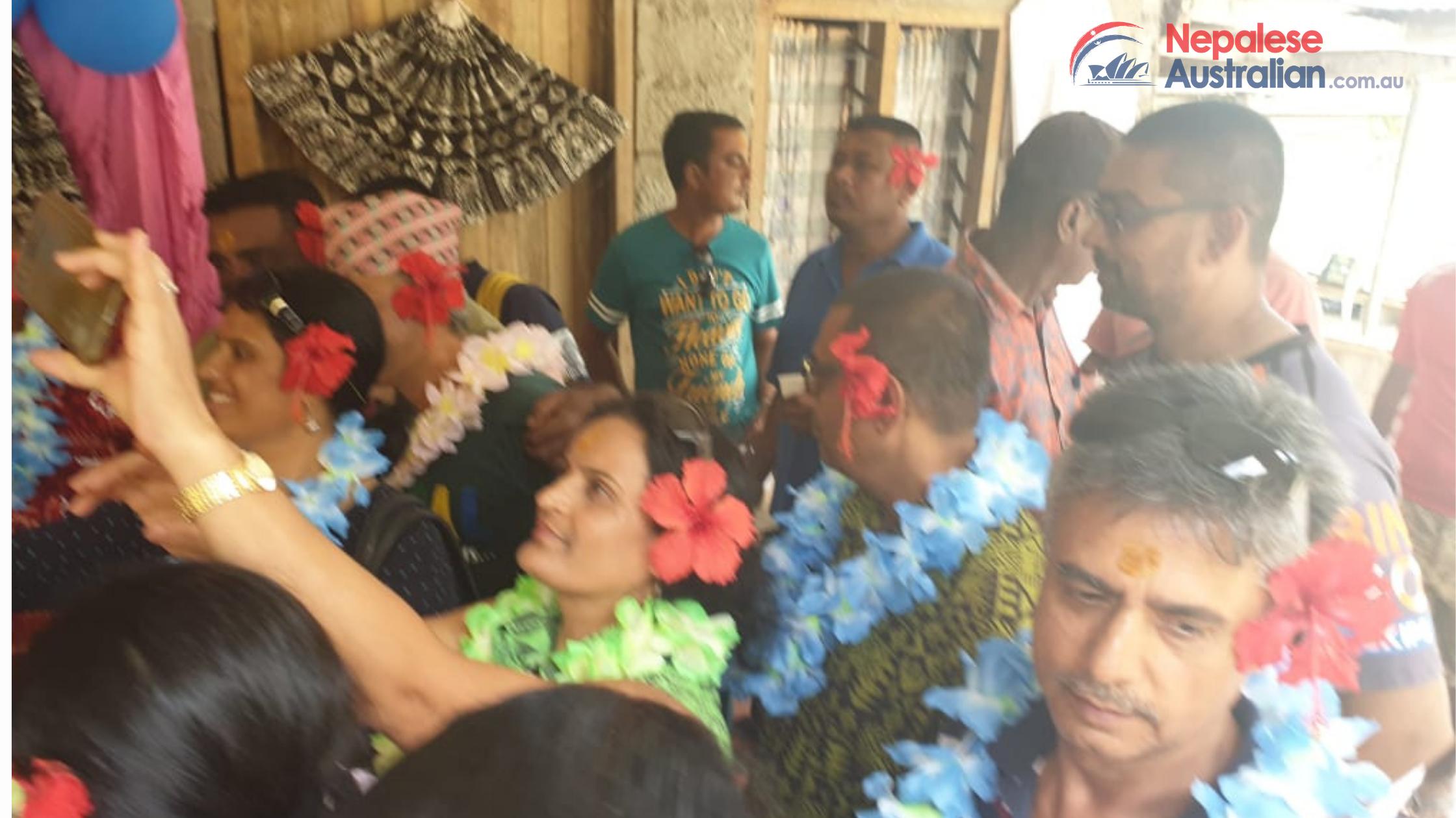 Nepalese celebrate Dashain Festival in FIJI
