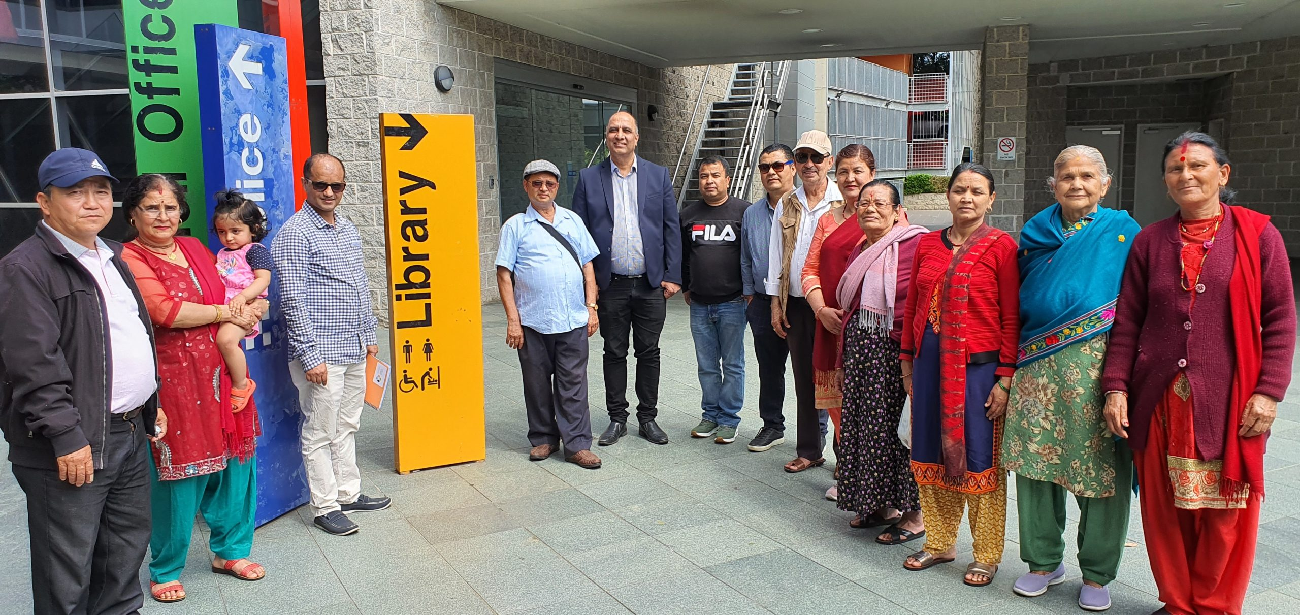 Local Nepalese Community Members attending Cumberland City Council Auburn Library Open Day
