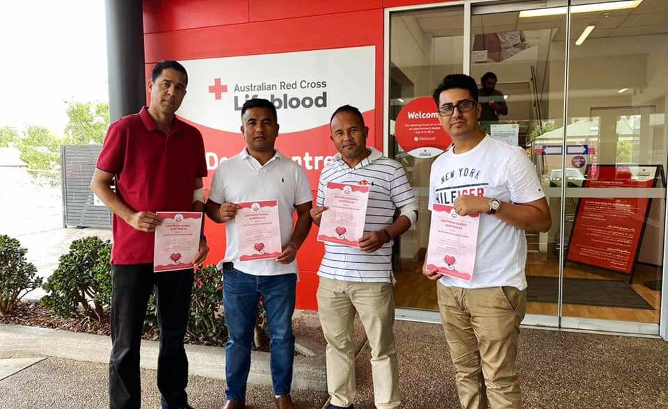 Chitwan Smamj Australia Blood Donation