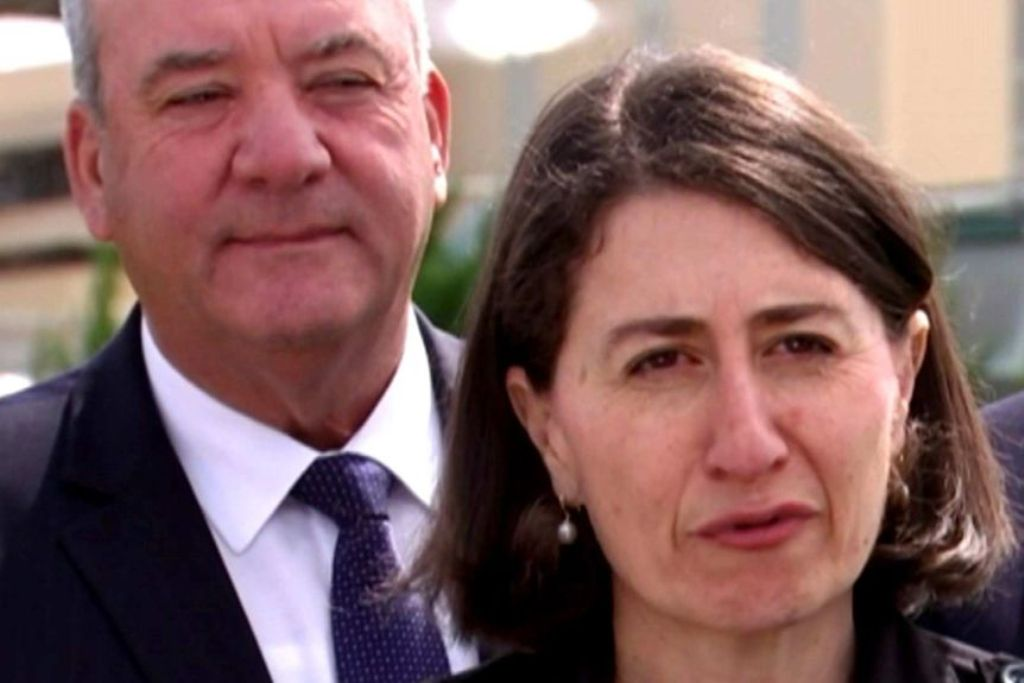 Gladys Berejiklian and Daryl Maguire PhotoABC News