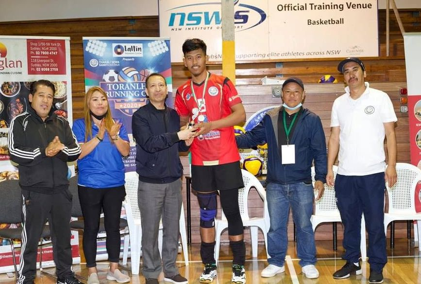 Nepalese National Game Volleyball Tournament Organised in Sydney