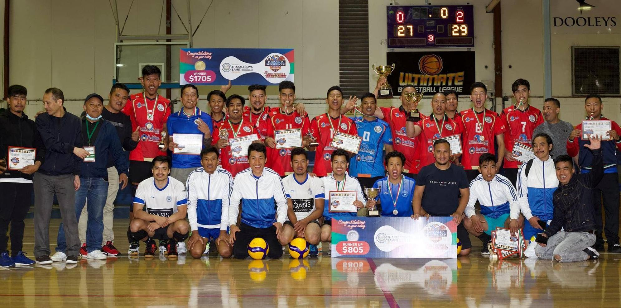 Nepalese Volleyball in Sydney