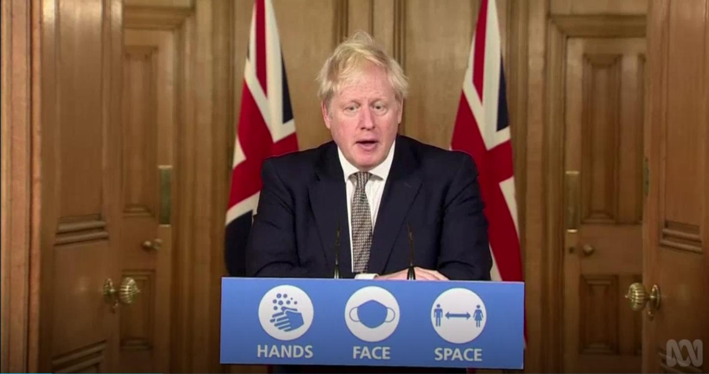England Prime Minister Boris Johnson