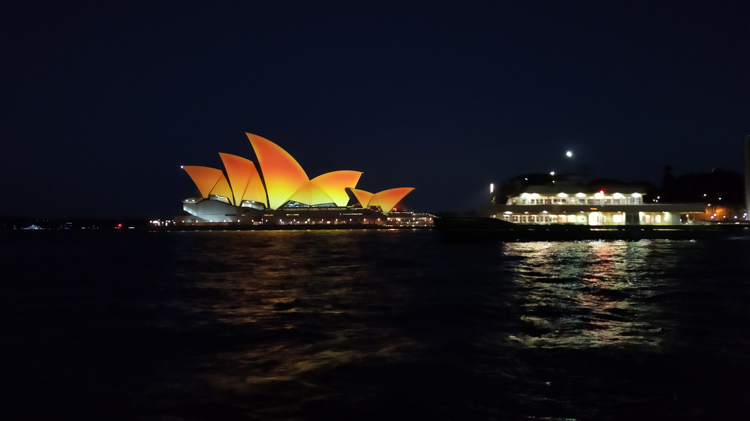 Opera House turns gold for Diwali