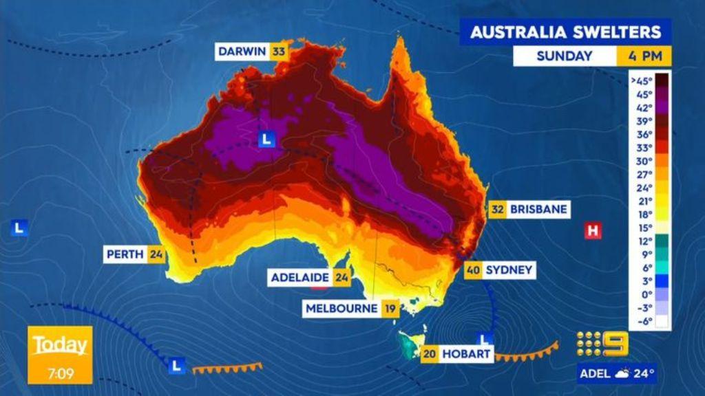 Sydney Heat wave 2020