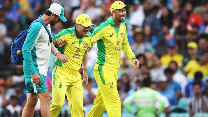injured opener David Warner will not play against India