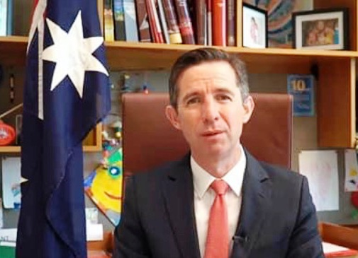 Senator Hon Simon Birmingham, Minister for Trade, Tourism and Investment and Minister for Finance, Australia