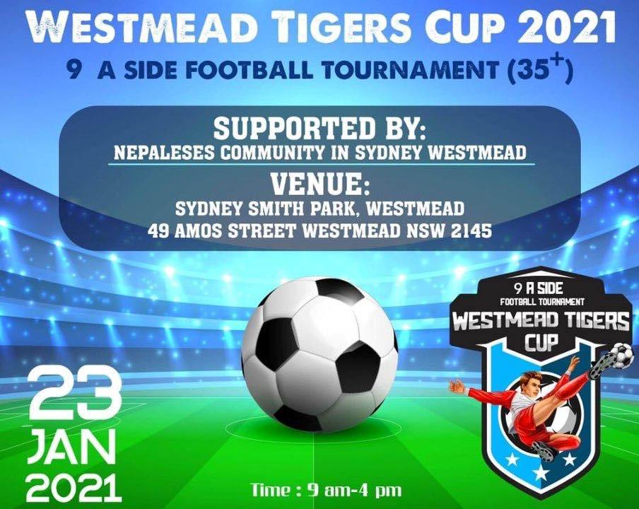 Westmead Tigers Cup 2021 9 A side Football Tournament