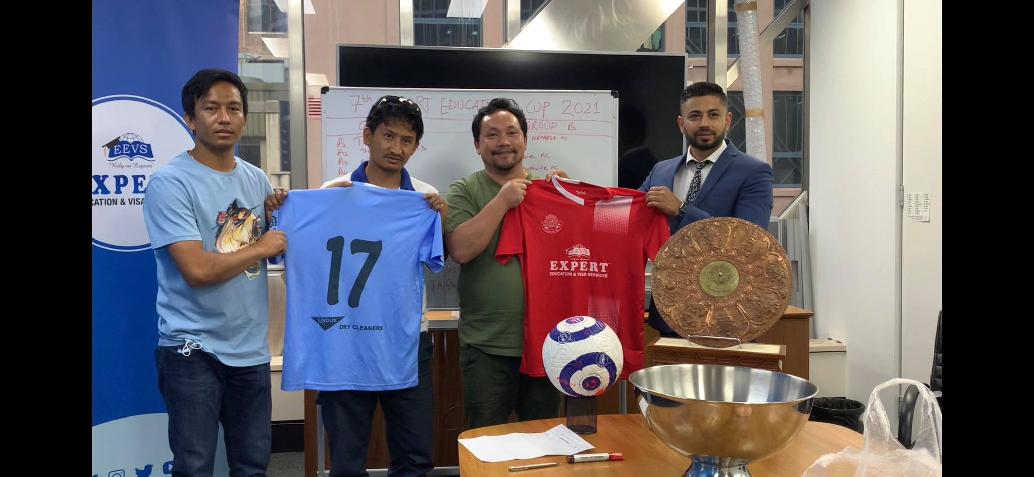 The much-awaited7th edition of 'Expert Education Cup, 2021',presented by the Tamang Recreational Club (TRCC)in association of ANFA, Australia, will take place on 24th January 2021 at Princes Park Rd., West Auburn, NSW.