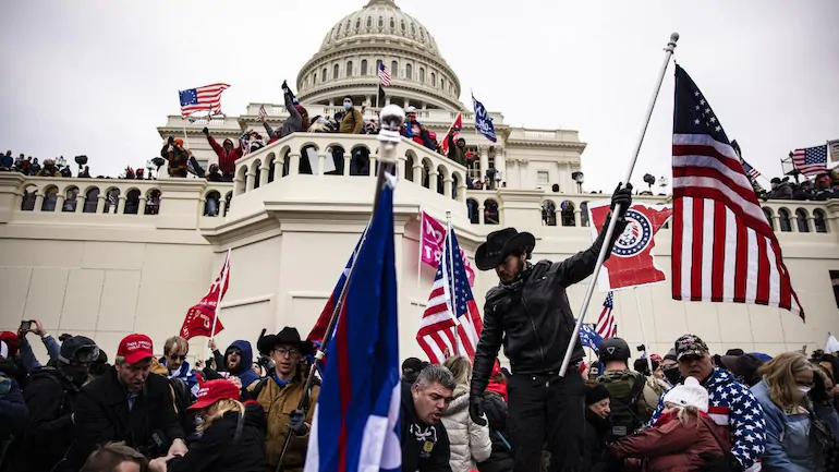 Supporters of US President Donald Trump barged into the Capitol building resulting in riots and violence that has claimed four lives. (Photo: Getty Images)