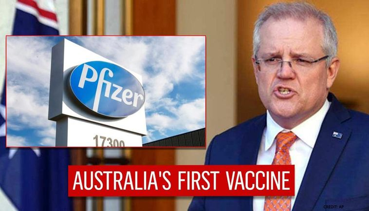 Australia's Covid vaccine rollout to begin Monday 22 February as first Pfizer shipment arrives