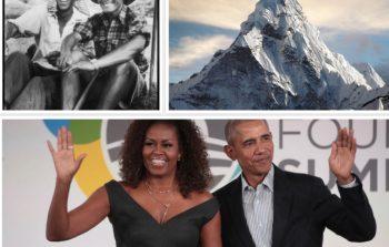 तेन्जिङ शेर्पाबारे फिल्म बनाउँदै ओबामा दम्पती