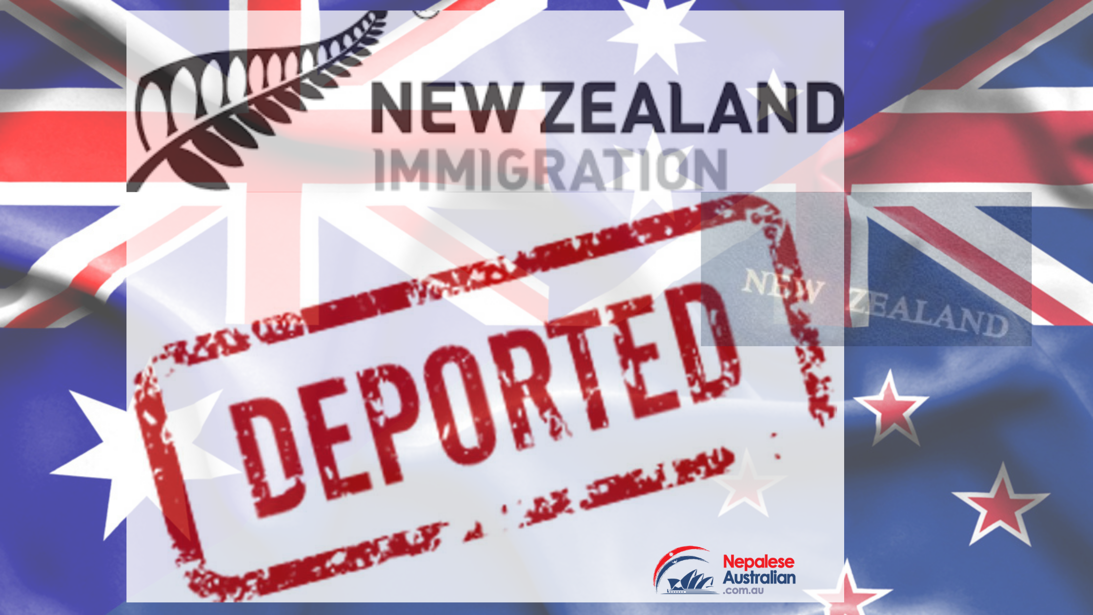 A Nepalese man has been ordered to leave New Zealand or risk deportation after he beat another man unconscious.