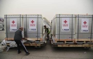 China-gifted 800,000 doses of vaccine arrive in Nepal