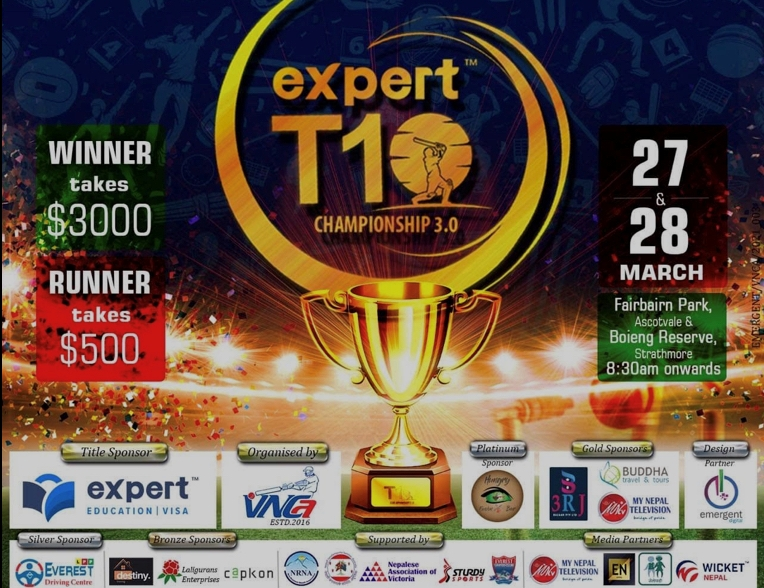 Expert-T10-Cricket-Championship-organised-by-Victorian-Nepalese-Cricket-Association