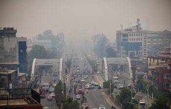 वायु प्रदूषित शहरमा काठमाडौँ फेरि विश्वको एक नम्बरमा