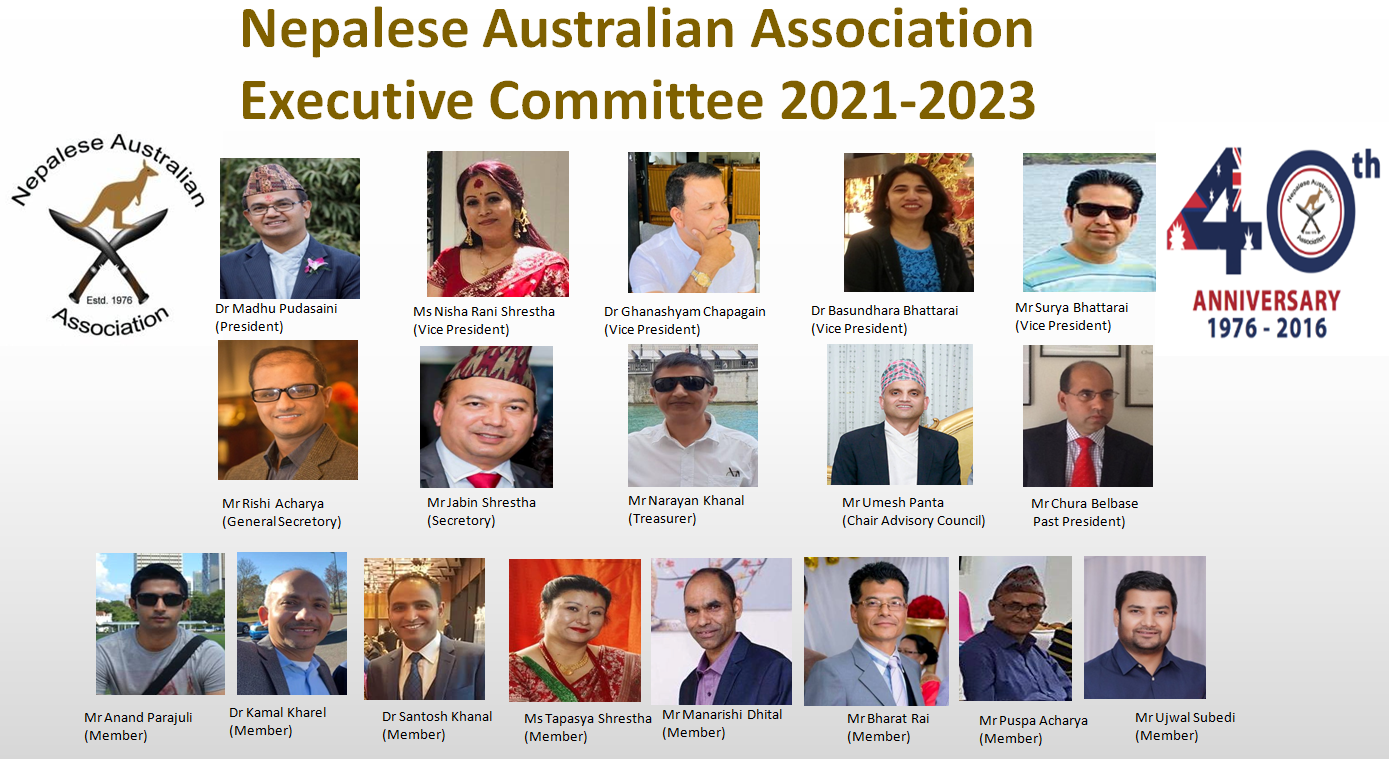 Oldest Nepalese association NAA elected new Executive Committee
