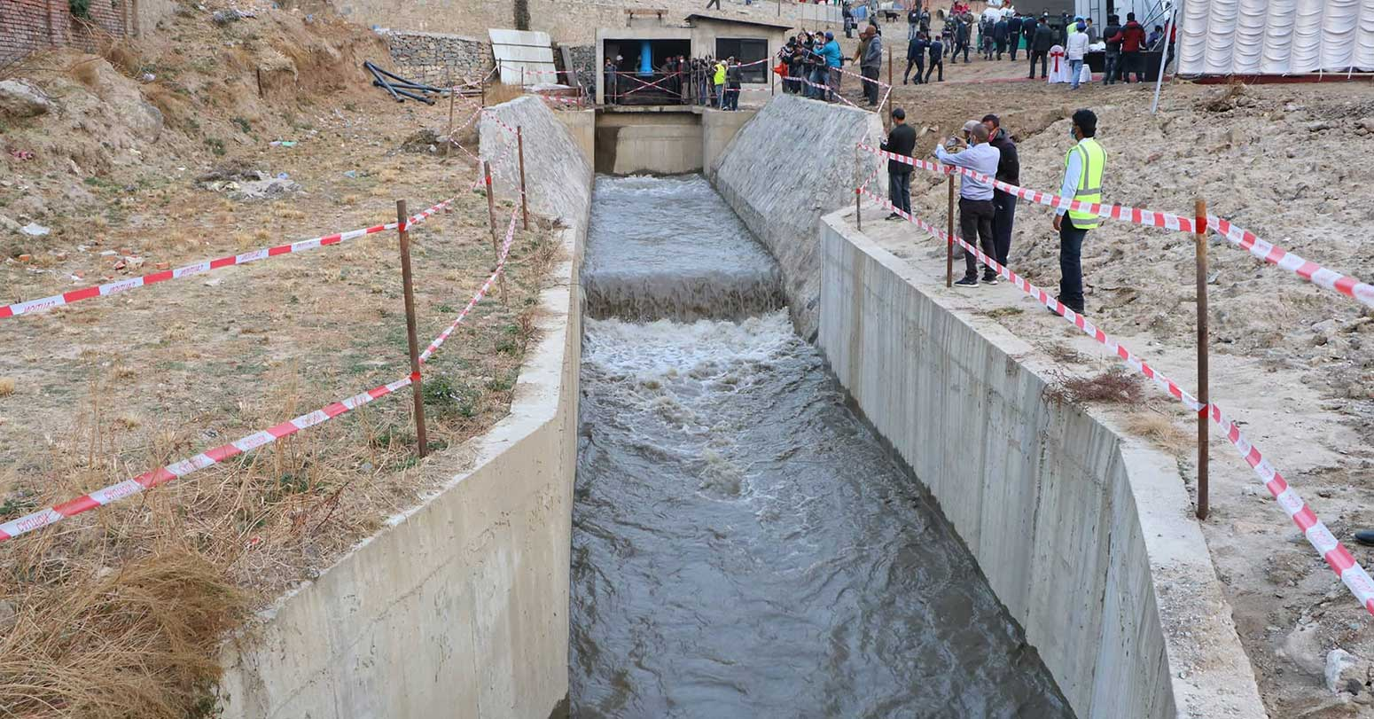 Test Operation of Melamchi Water Supply Project held Successfully