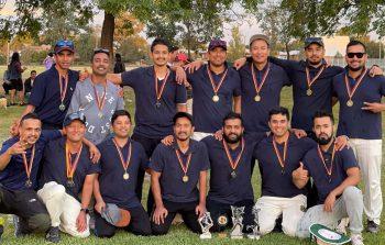 दब्बोमा भएको बहुसाँस्कृतिक क्रिकेट प्रतियोगिताको उपाधि नेपाली टोलीलाई