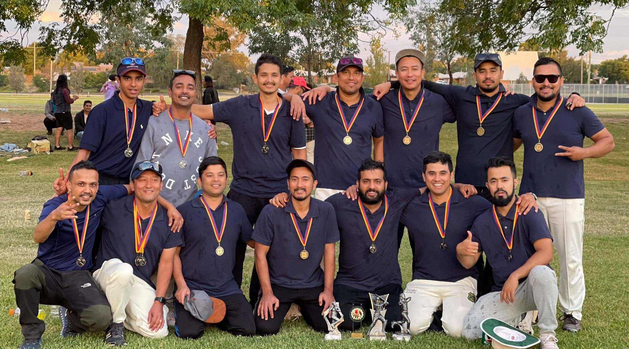 Dubbo Nepalese Team Stars winner of the ORISCON T-20 cricket tournament 2021