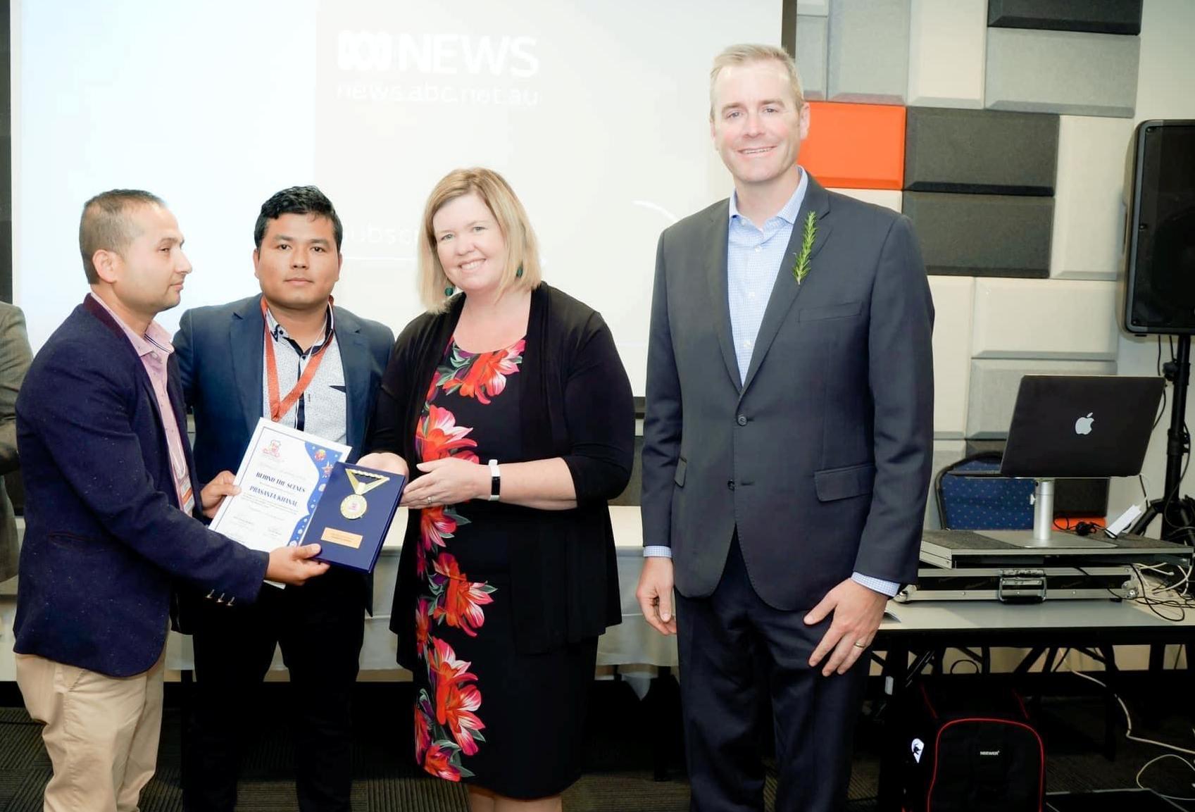 Liberal leaders assure Launceston Nepalese Cricket Club to help build stadium