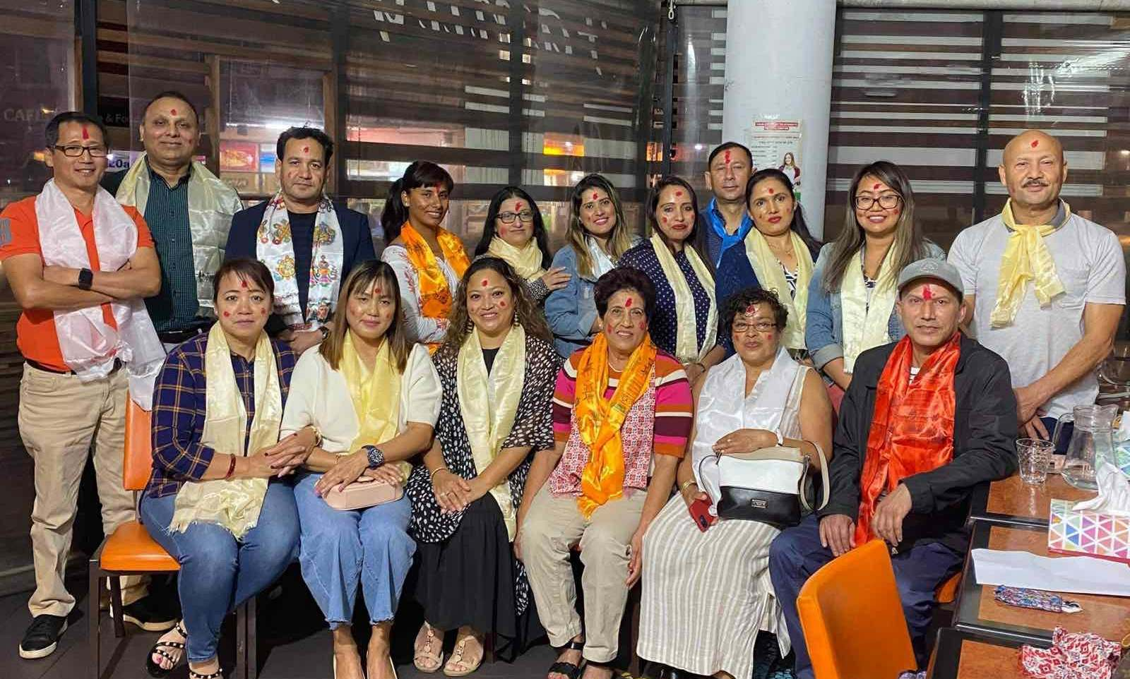 Nepalese Art, Cultural and Literature Academy Australia president Sujata Basnet
