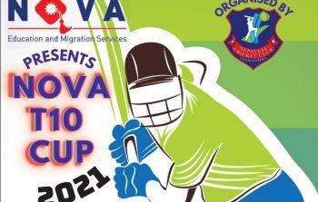 क्विन्सल्याण्ड राज्यको टोअम्बामा नोभा टि १० कप क्रिकेट हुने