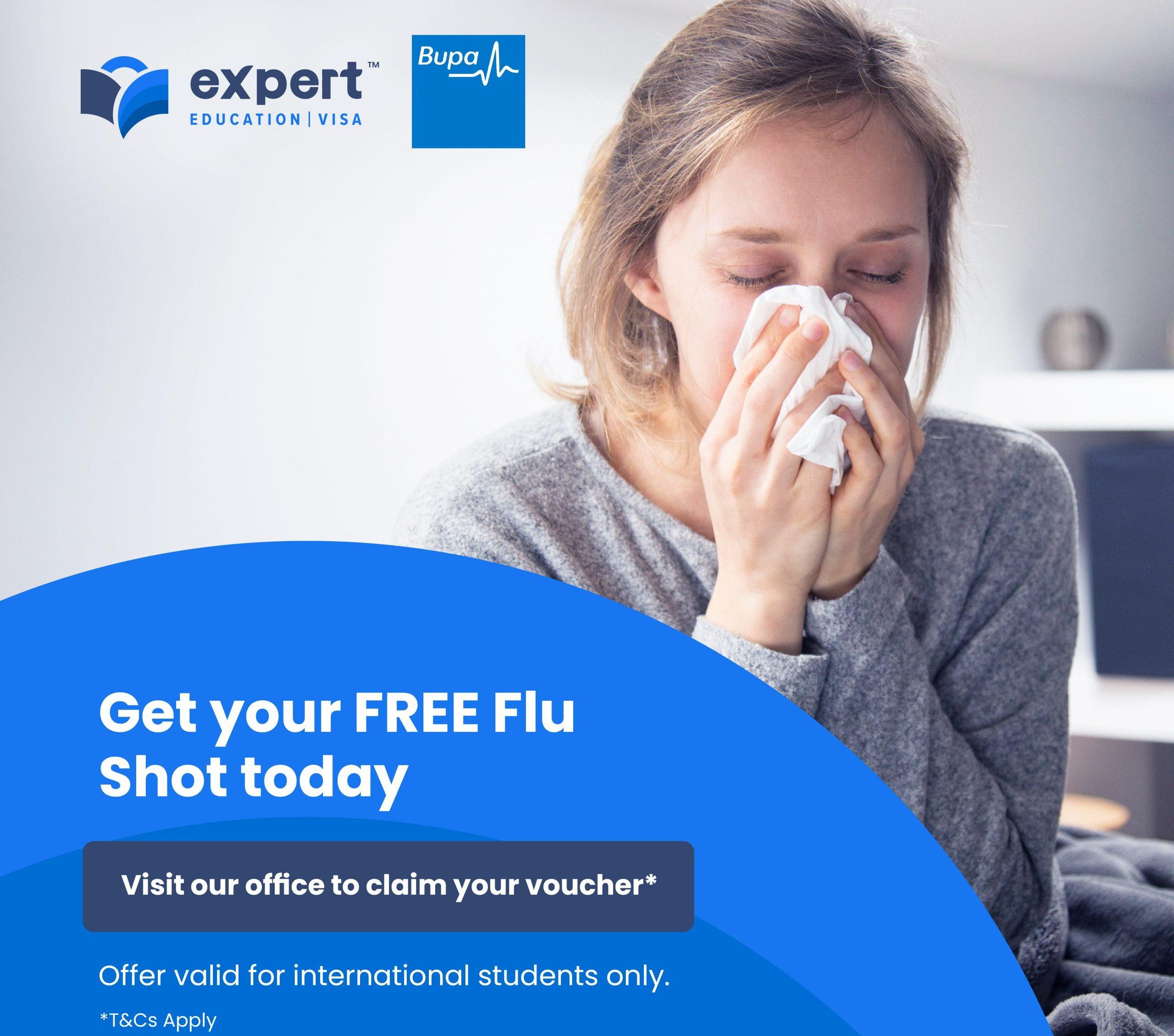 Expert Education - Free Flu Vaccination