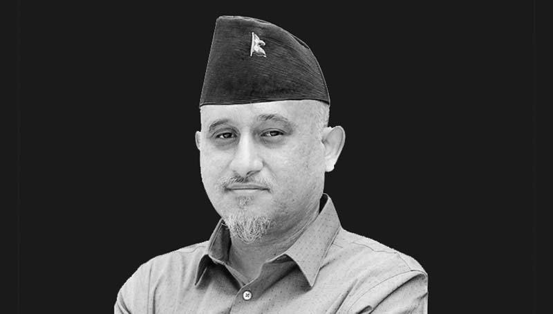 A leader of the Bibeksheel Sajha Party, Ujjwal Thapa, has passed away.