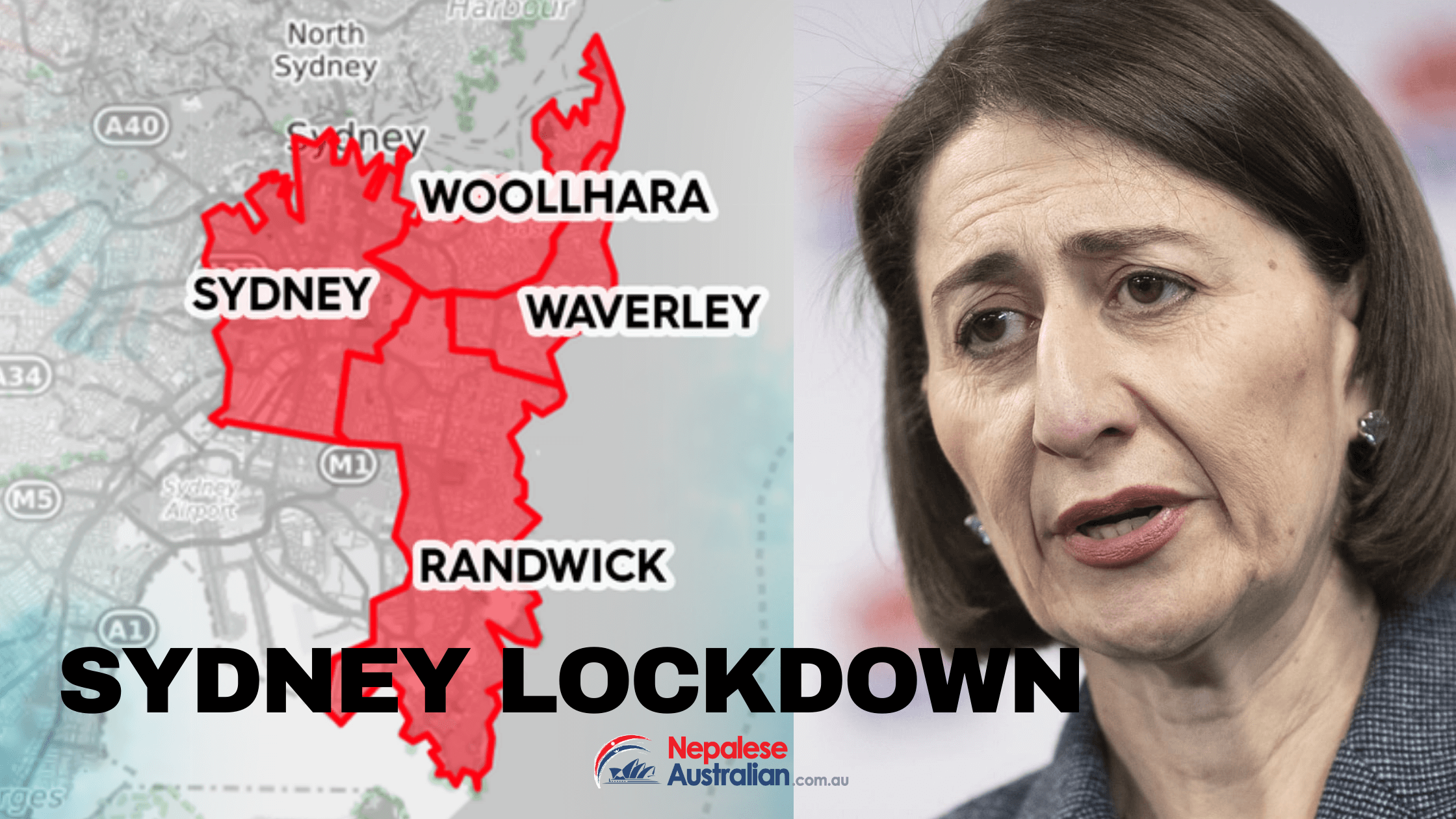COVID-19 lockdown restrictions have been announced for four Sydney LGAs