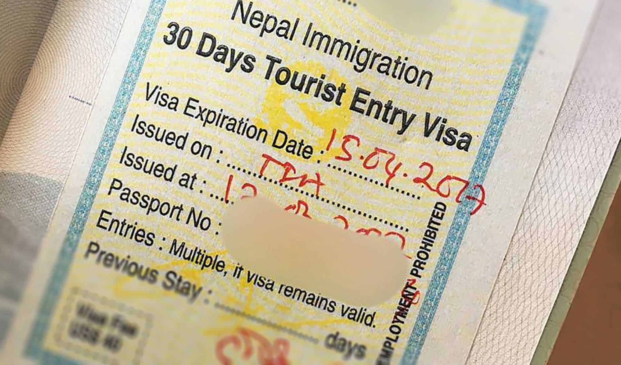 Nepal on launched a digital visa system to replace its 45-year-old hand-written visa regime.