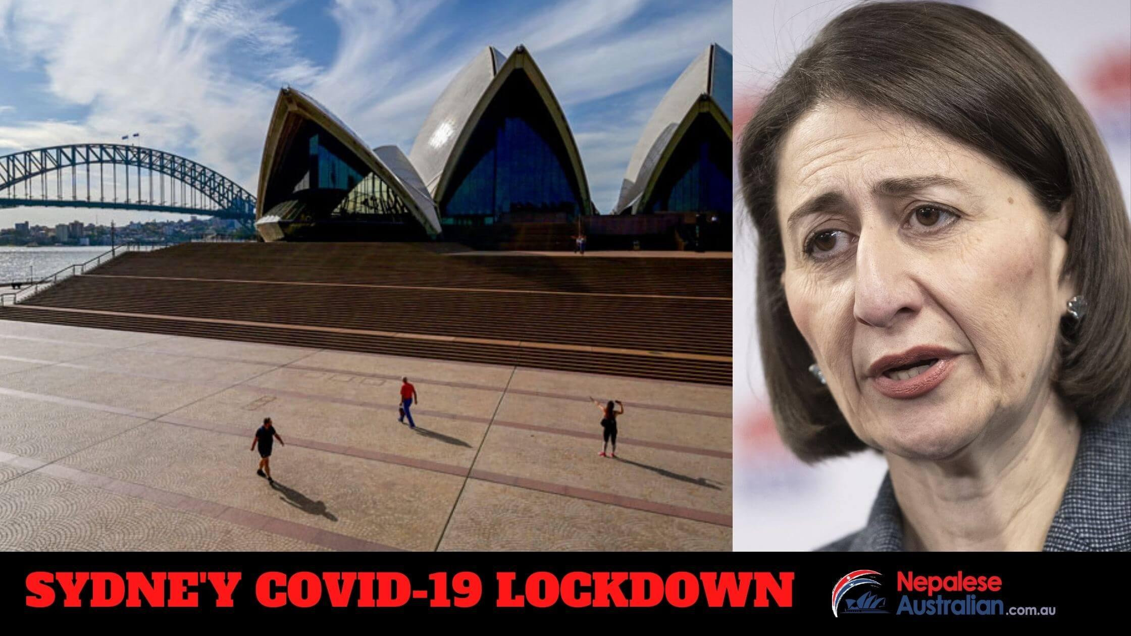 Sydney's Covid-19 Lockdown 2021 final