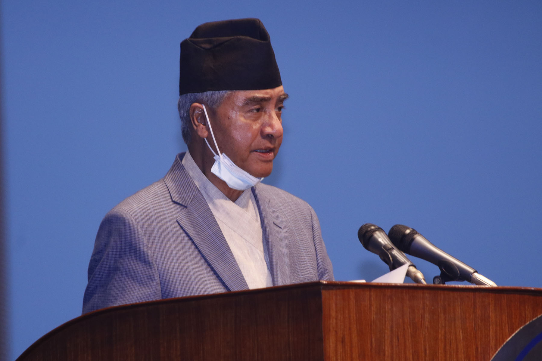 Prime Minister Sher Bahadur Deuba has secured the vote of confidence in parliament Sunday.