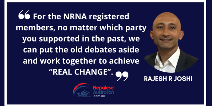 NRNA, Australia Election Today: Roadmap for Tomorrow