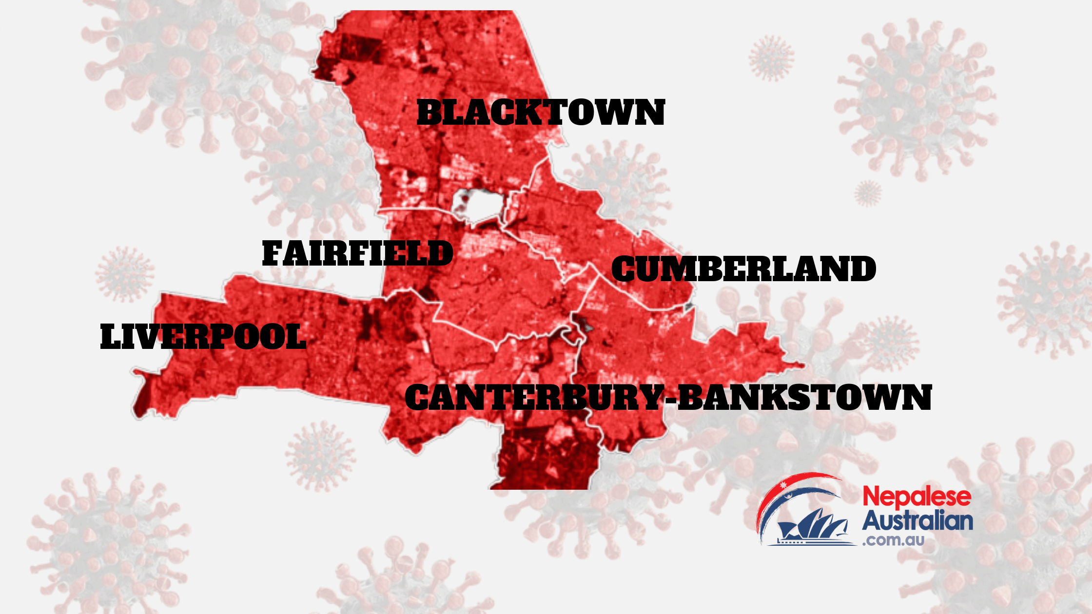 Residents of Fairfield, Canterbury-Bankstown, Liverpool, Cumberland and Blacktown are now not allowed to leave their areas unless they are health workers or on a list of authorised workers.
