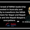 Paradoxes of the NRNA Movement in Australia and Beyond
