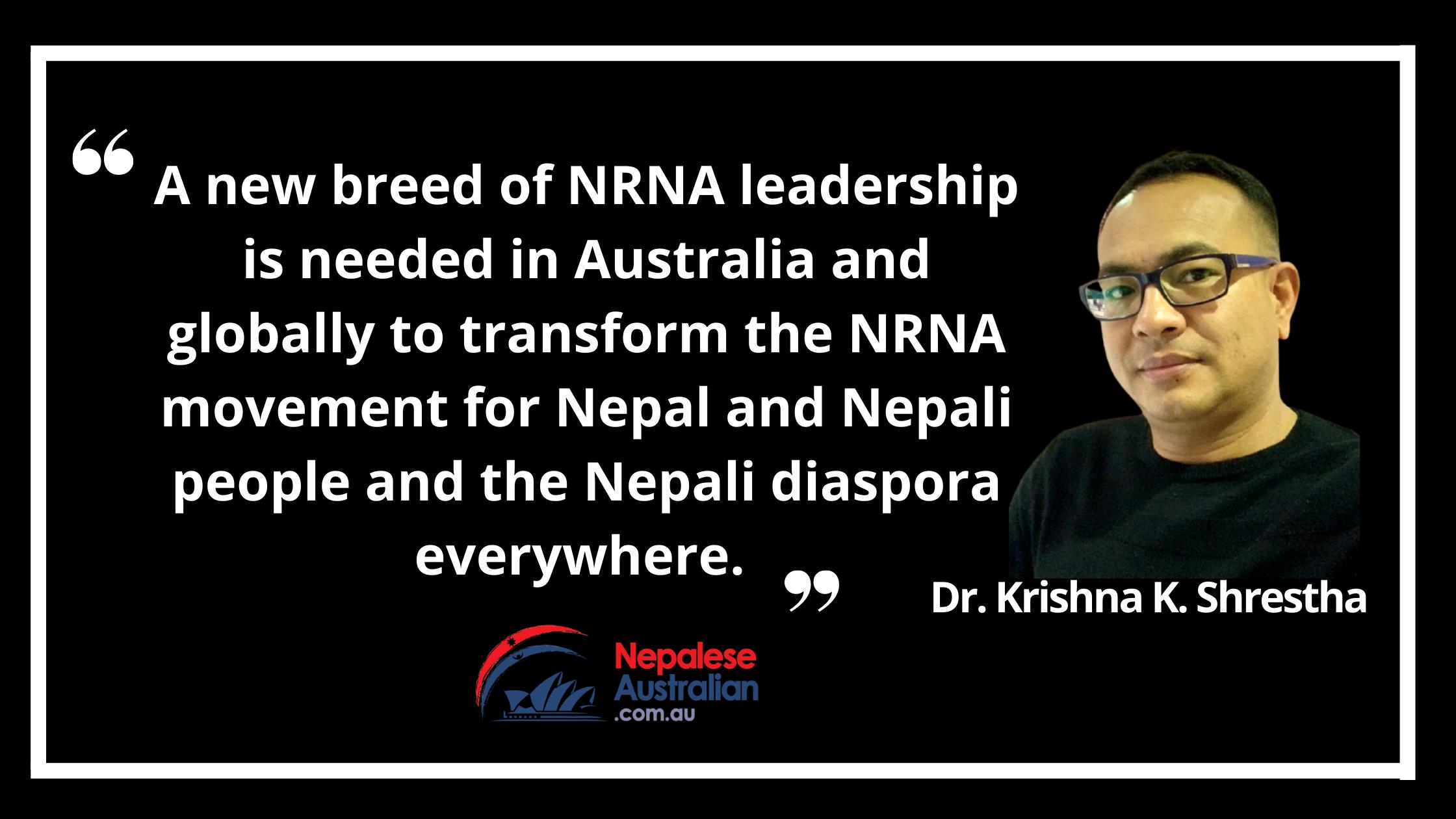 Dr Krishna K. Shrestha Associate Professor of Global Development University of New South Wales, Sydney