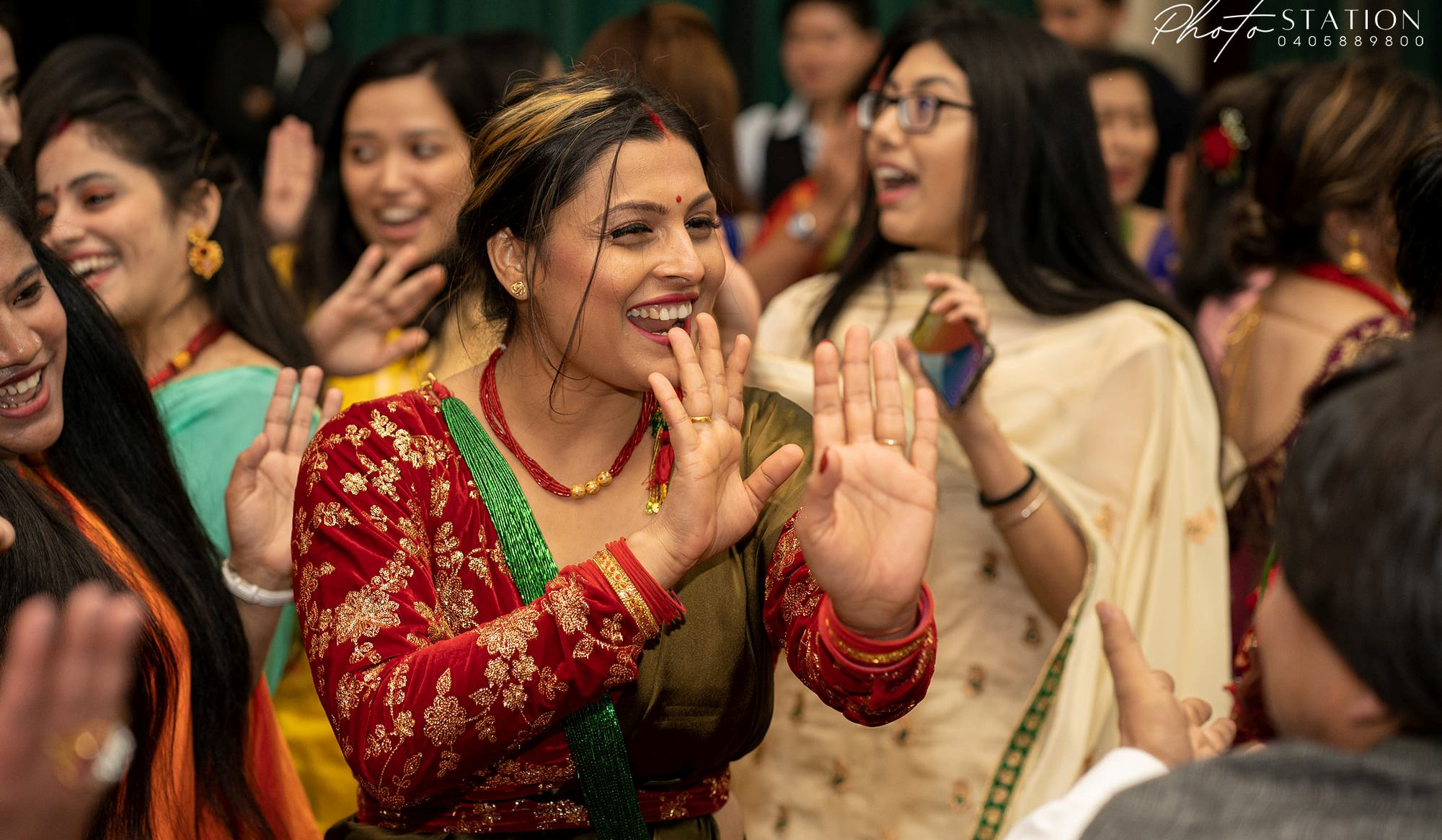 Teej Nepalese Festival celebration in Devonport,Tasmania.