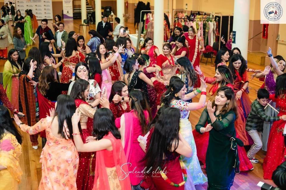Teej Nepalese Festival celebration in Hobart,organise by Nepali society of Tasmania.
